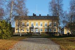 De woonplaats in Luleå stock afbeelding