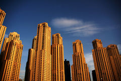 De Woonplaats van het Strand van Jumeirah stock foto