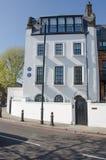 De woonplaats van Hilaire Belloc nam nota van literair cijfer royalty-vrije stock foto