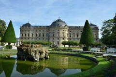 De Woonplaats van Würzburg royalty-vrije stock foto