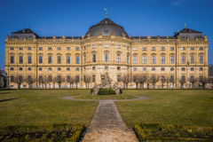 De Woonplaats van Wurzburg, Duitsland Royalty-vrije Stock Foto's