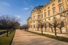 De Woonplaats van Wurzburg, Duitsland Royalty-vrije Stock Foto