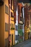 De woonplaatsen van Rothenburg   Stock Afbeeldingen