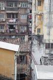 De Woonwijk van Macao Stock Afbeelding