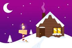 De Workshop van de kerstman Vector Illustratie