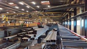 De workshop van de staalfabriek Royalty-vrije Stock Afbeeldingen