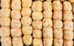 De worst van de krab (Hoi Jor), het favoriete Chinese voedsel van A Stock Illustratie