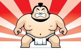 De Worstelaar van Sumo Stock Afbeelding