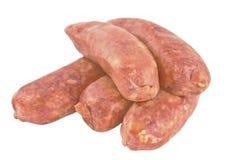 Varkensvleesworsten royalty-vrije stock afbeeldingen