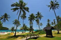 De Wua île de recouvrement merci Photos stock