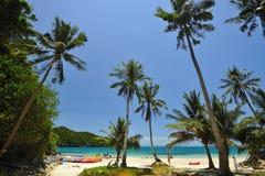 De Wua île de recouvrement merci Photographie stock libre de droits