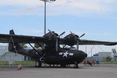 2de WW-bommenwerper op vertonings herdenkingsdag Stock Fotografie