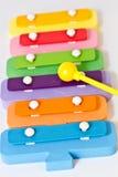 De xylofoon van het stuk speelgoed Stock Fotografie