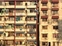 De Yangonbouw Royalty-vrije Stock Afbeeldingen