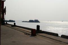 De Yangtze-rivier stock afbeeldingen