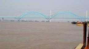 De Yangtze-rivier stock fotografie