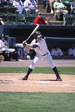 De Yankees van de Staaf van Wilkes van Scranton slaan Luis Nunez royalty-vrije stock foto's