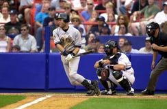De Yankees van Derek Jeter New York Royalty-vrije Stock Foto