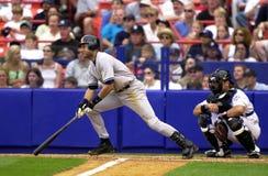 De Yankees van Derek Jeter New York Royalty-vrije Stock Foto's