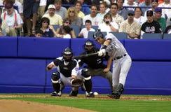 De Yankees van Derek Jeter New York Royalty-vrije Stock Afbeeldingen