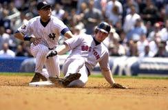 De Yankees van Derek Jeter New York Royalty-vrije Stock Afbeelding