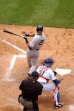 De Yankees van Derek Jeter Of The New York Royalty-vrije Stock Afbeelding