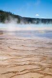De Yellowstone Hete Lentes Stock Afbeelding