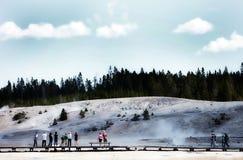 De Yellowstone Thermische Hete Lentes Royalty-vrije Stock Afbeeldingen