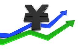 De Yen van Japan Royalty-vrije Stock Foto
