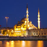 De Yeni Moskee, Nieuwe Moskee Stock Fotografie