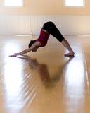 De yoga stelt Stock Fotografie