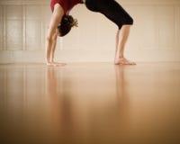 De yoga stelt Royalty-vrije Stock Afbeeldingen