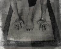 De yoga valt Royalty-vrije Stock Foto's