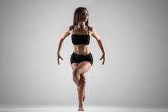 De yogaadelaar stelt Stock Foto