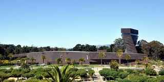 De Young Museum San Francisco royalty free stock photo
