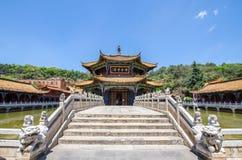 De Yuantongtempel is de beroemdste Boeddhistische tempel in Kunming, Yunnan-provincie, China Stock Fotografie