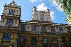 De Zaal Nottingham het UK van Wollaton royalty-vrije stock foto's