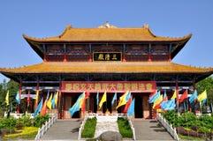 Taoist Tempel Royalty-vrije Stock Afbeeldingen