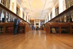 De Zaal van British Museum Stock Foto's