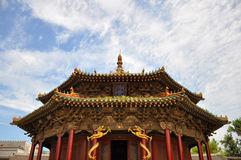 De Zaal van Dazheng, Shenyang KeizerPaleis, China Royalty-vrije Stock Foto's