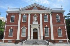 De Zaal van de bibliotheek in Philadelphia Stock Foto's
