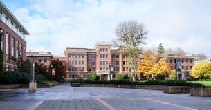 De Zaal van de bundellandbouw op de de Universiteitscampus van de Staat van Oregon, C Royalty-vrije Stock Foto's