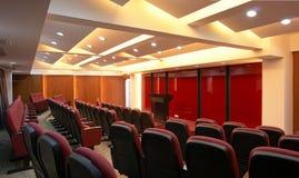 De Zaal van de conferentie stock afbeelding