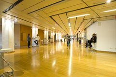 De zaal van de conferentie/van de vergadering royalty-vrije stock foto
