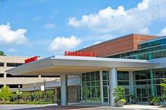 De Zaal van de het ziekenhuisnoodsituatie Royalty-vrije Stock Afbeeldingen