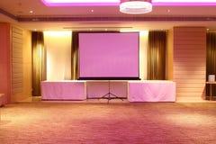 De Zaal van de hotelconferentie Stock Foto's