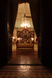 De Zaal van de Jade van het Paleis van Falaknuma, Hyderabad Royalty-vrije Stock Afbeelding