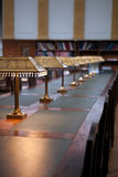 De Zaal van de Lezing van het archief royalty-vrije stock afbeeldingen