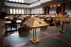 De Zaal van de Lezing van het archief stock foto's