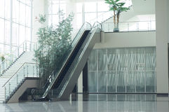 De zaal van de lift Stock Foto's